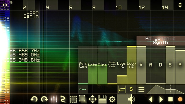 WarmPlace ru  Virtual ANS Spectral Synthesizer